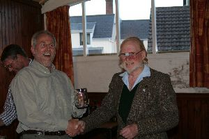 Centre Alternative Route Winner Glyn Smith, and Trevor Hunt